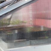 Vægdrivhus i polycarbonat