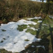 Lidt sne tilbage