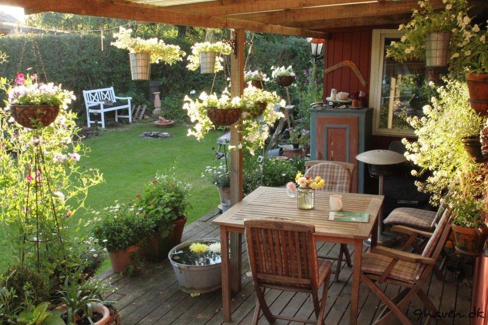 billeder af min vestvendte terrasse syntes selv terrassen er rigtig ...