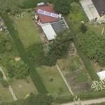 Luftfoto af kolonihaven