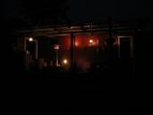 Aften på terrassen
