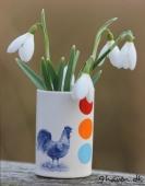 Vintergække i vase