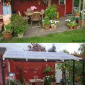 Gammelt/nyt terrassetag