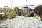 Sne ved orangeri
