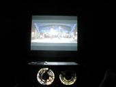 Projektor og storskærm